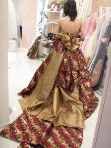 Column No.001 \u2015 和ドレス小物もアレンジ \u2015