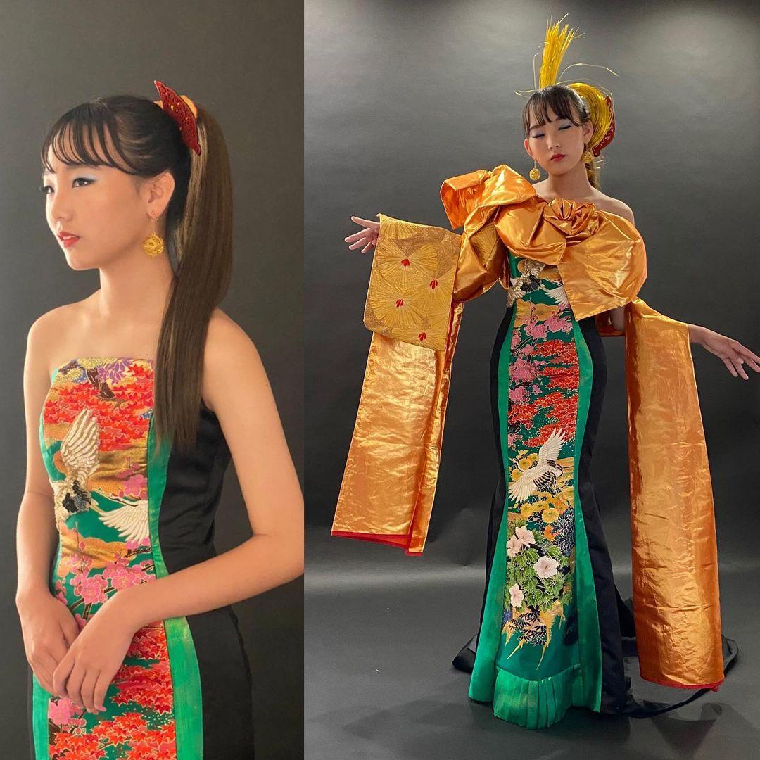 プレビューモデルさんのドレス撮影。