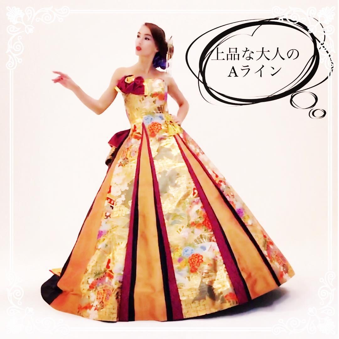 Aラインのドレスは シンプルなほど、素材の良さが際立つ。  余計なものをつけないから、 ご本人の魅力が引き立つ。  上品な豪華素材だから、 気品が溢れる。  ただのドレスではない、 究極のドレス、実物の試着にで 感動して下さい❣️   試着は無料なので、 DMで試着予約してね。  スッキリとした大人のドレスは ラインを引き立てるウエストのくびれが魅力。  頑張って痩せなくても 自然にできる美ラインに あなた自身が驚いて  DMお問い合わせ @aliansa