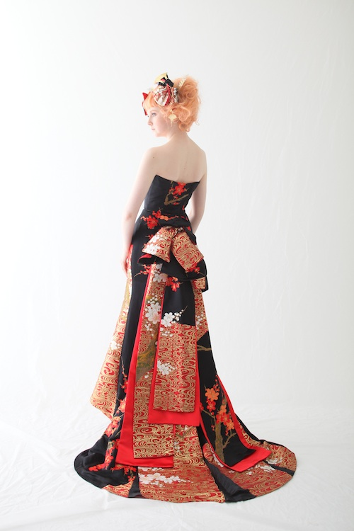 モデル募集 和ドレス アリアンサ