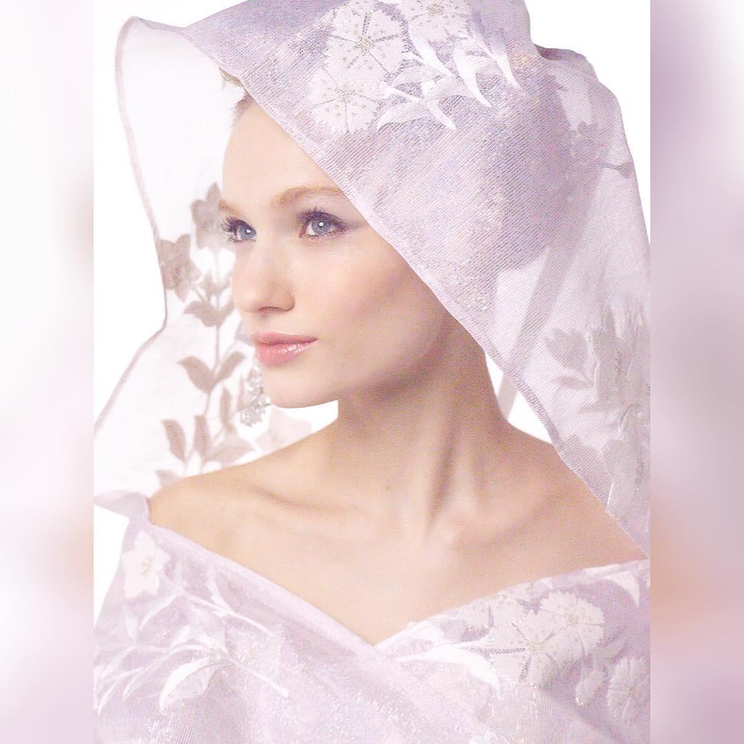 【丁寧に刺繍された手刺繍の透け感が素敵なシルクのフード】  オーガンジーのような透け感が、 手刺繍の柄を引き立たせる 綿帽子をイメージしたフードがカワイイ❣️  白無垢ドレスのオーバードレスとして 華を添えます。  ドレスは着るだけで細くなるように作られた魔法のドレス。  あなたも奇跡のドレスを着てみませんか? @aliansa