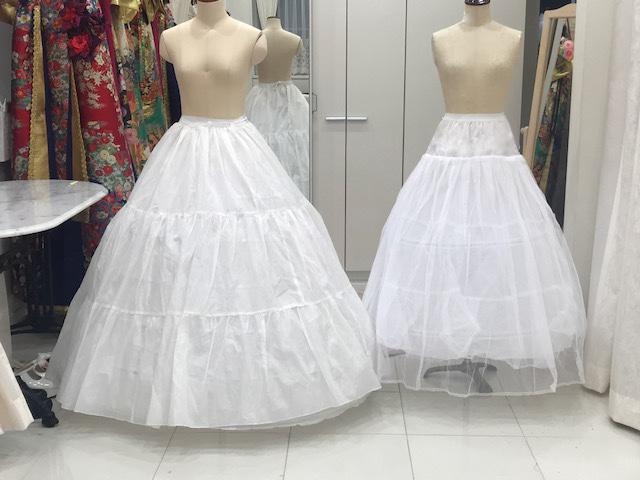 【レンタル無料】パニエの威力!これだけでドレスがこんなにゴージャスに!?それにはある条件が・・・