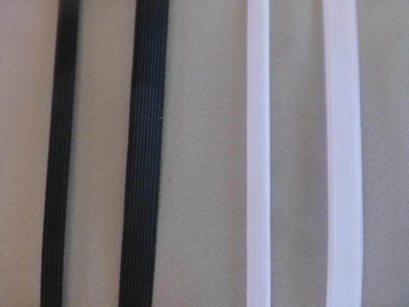 ボーン コルセット用 ブレード ボーンテープ 白 黒 ホワイト ブラック 8mm 12mm
