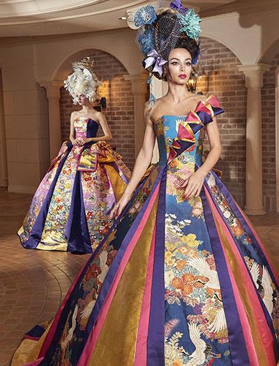 主役の為の最高の一着:和ドレスウェディング