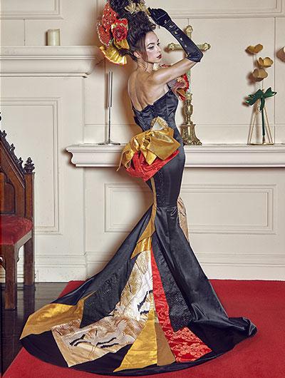 美しいボディラインにこだわる:和ドレスウェディング