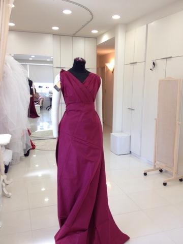 生地でドレス ピンワーク アリアンサ ロングドレスイメージ