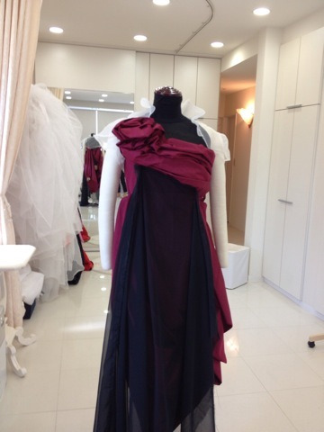 ピンだけでドレス ドレス作るイメージ アリアンサ