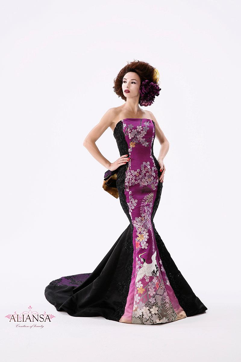お色直しドレス・黒ドレス・青ドレス・パーティ・コンテスト
